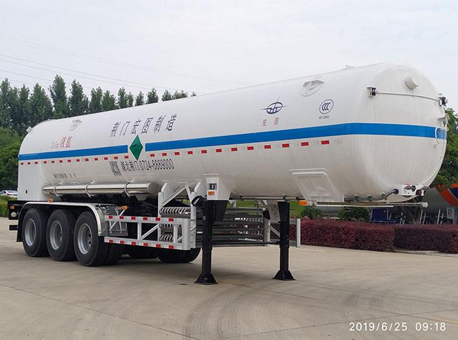 HT9404GDY-21.5m3液氩半挂车