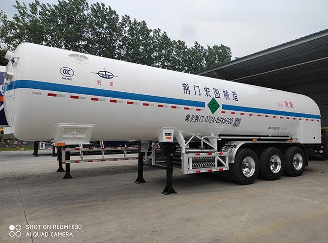 HT9403GDY1-26m3液氧半挂车