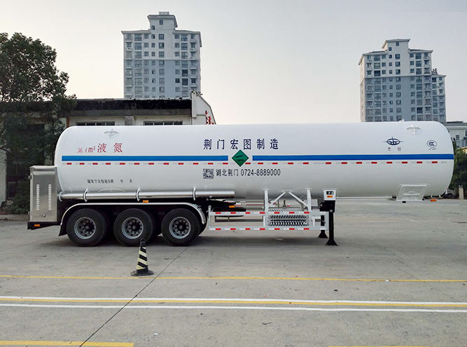 HT9405GDY3-36.4m3液氮半挂车